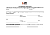 Volunteer Documentation Form